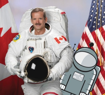 Chris Hadfield and Floaty: ISS BFFs
