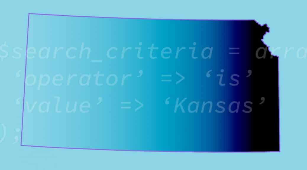 This is the state of Kansas in the US. A bit meta, but apparently, I'm in a meta mood.