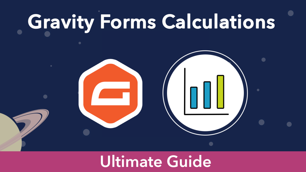 """""""Gravity Forms Calculations"""". The Gravity Forms logo next to a graph icon"""